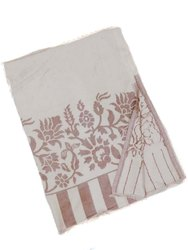 Embroidery Lenzing Cutwork Shawls