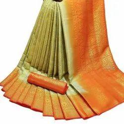Naylon Designer Silk Saree