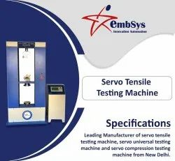 Servo Control Computerized Universal Testing Machine