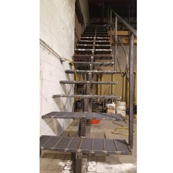 Stairs Outdoor Mild Steel Staircase