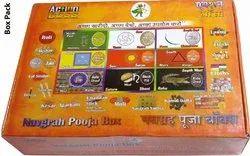 MIX Navgrah Pooja Box, Poojan Use, Size: 15 X 10 X 6