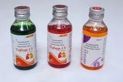 Levosalbutamol, Ambroxol HCL, Guaiphenesin Syrup