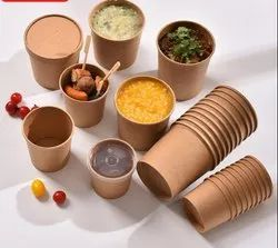 Brown Paper Container