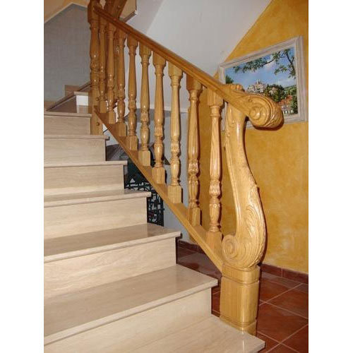 Staircase Wooden Railing