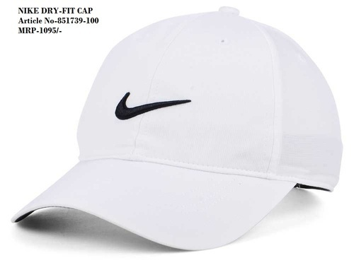 outlet store 30ad9 519d1 Nike White dry fit cap