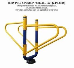 Zorex Fitness Iron Body Pull & Pushup Parallel Bar (Z-PB-S-01)