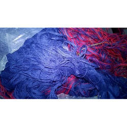 Multicolor Polyester Mixed Dyed Yarn Waste, For Industrial