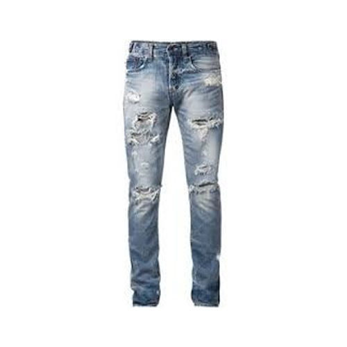 Stylish Mens Rugged Jeans