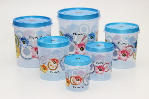 6cf738f89f7 Transparent Printed Plastic Airtight Containers