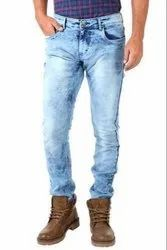Denim Faded Mens Jeans, Features: Strechable