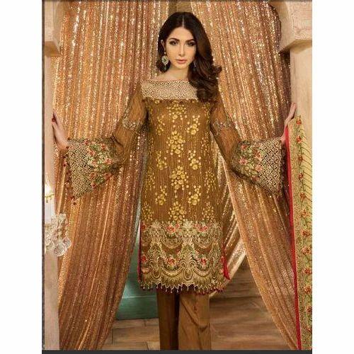 f5581107ad Medium And XL Georgette Stylish Pakistani Suit, Rs 600 /piece | ID ...
