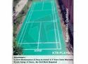 Outdoor Badminton Flooring KTR