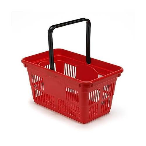 Plastic Red DONRACKS  Shopping Baskets