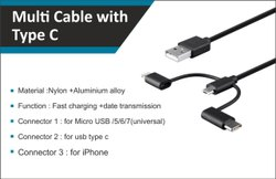 Multi Cable Type C