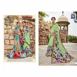 Rachna Georgette Seerat Catalog Saree Set For Woman 4