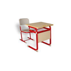 Adjustable Single Desk & Chair School Furniture