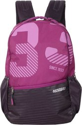Polyster Printed American Tourister 35 Liter School Backpack With 1 Year Warranty
