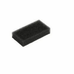 Rectangular Black BIPAP / CPAP Ultra Fine Foam Filters For Philips