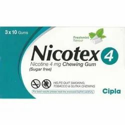 Nicotex 4mg Chewing Gum