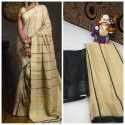 Linen Digital Print Saree
