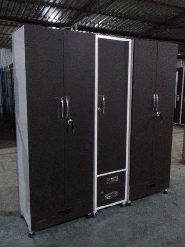 Parmar Five Door Steel Almirah, Warranty: 1 Year