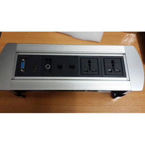 Manual Pop Up Box For Table In Conference Room Pop Up Box Cuby For - Conference table power box