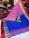 Handloom Cotton Silk Templework Sarees
