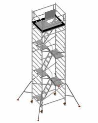 Mobile Aluminium Scaffold Tower For Boiler