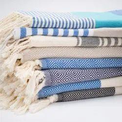 Custom Printed Hammam Pestemal Tunisia Fouta Terry Towel