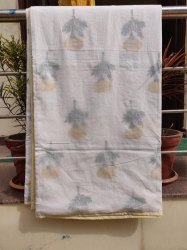 Handmade Cotton Block Printed Dohar Blanket
