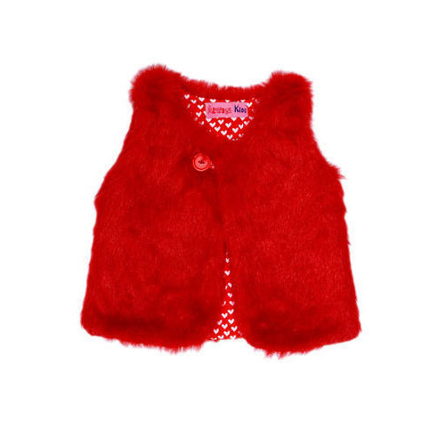 Plain And Fur Fur And Cotton Kids FUR Reversible Vest And Jacket, Size (Inches): 3 Months- 12 Years