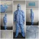 ISO CE Certified PPE Kit- 90GSM Coverall Suit with 6 Content Item Personal Protection