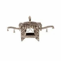 Silver Plated White Metal Doli for Home Decoration & Gifting