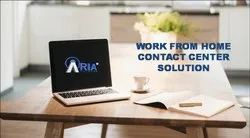 Work From Home Contact Center Solution : For High Volume Calls Traffic