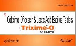 Cefixime 200 mg, Ofloxacin 200 mg with Lactic Acid Bacillus
