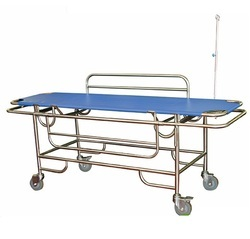 Stainless Steel Patient Trolley