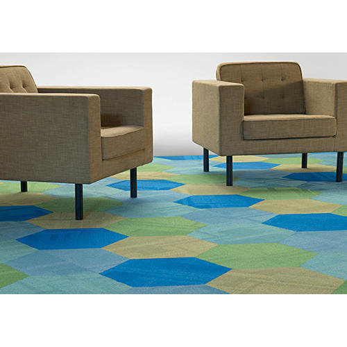 Available In Various Color Nylon Carpet Tile, Thickness: 6 - 8 mm, Size