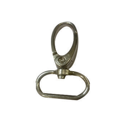Lucky Plastics 209 Lanyard Metal Fitting (Tear Drop Hook) (Oval Look) 20 mm