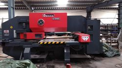 Amada CNC Turret Punch Press Machine Coma 555