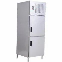 Stainless Steel SKE Two Door Vertical Refrigerator, Capacity: 350 Ltr, Double Door