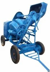 Cement Concrete Mixer Machine with Hydraulic Hopper