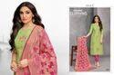 Embroidered Banaras Dupatta Salwar Suit