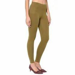 Green Lux Lyra Plain Leggings