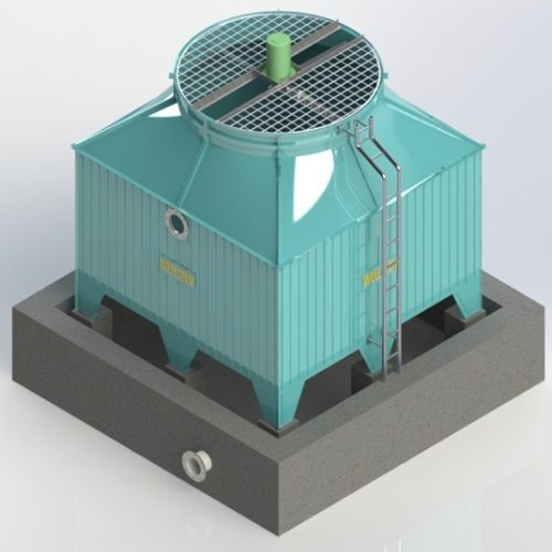 FRP Indused Draught Square Type Cooling Tower