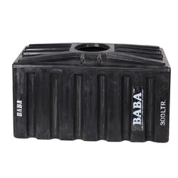 Black Loft Water Storage Tank