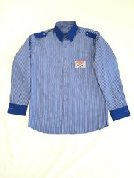 Poly Cotton Full Sleeves HP Petrol Pump Staff Uniform