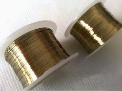 Golden Molybdenum Wires