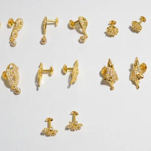 029bd9a99 Gold Small Studs, Arts N Jewels | ID: 15190186248