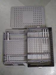 Orthopedic Square Nail Instrument set