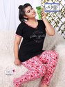 Top And Lower Cotton Nightwear For Women